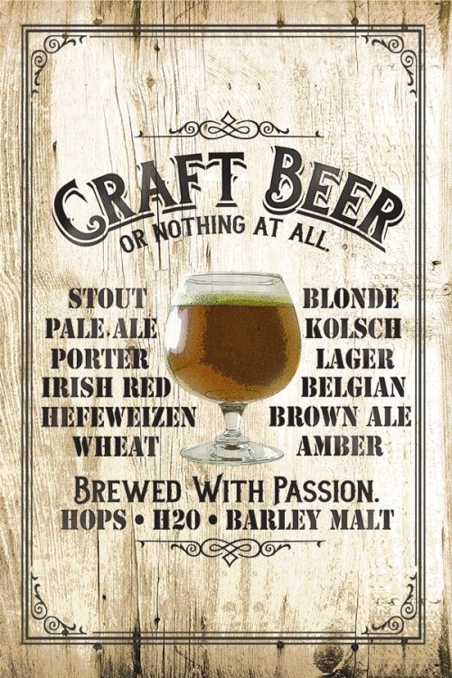 Craft Beer, Brewed With A Passion