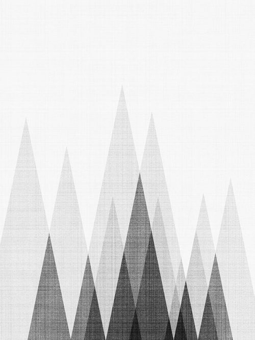 Abstract Triangle Art 1