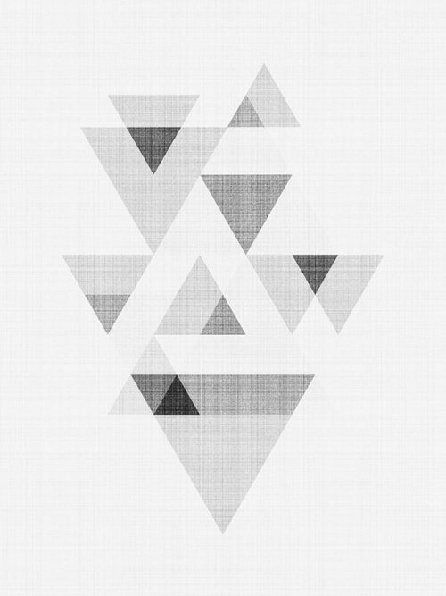 Abstract Triangle Art 3