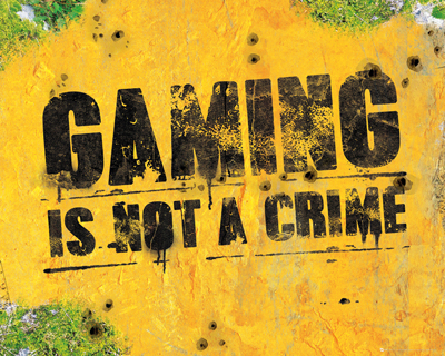 Gaming Is Not A Crime