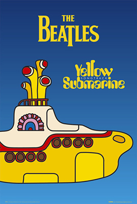The Beatles Yellow Submarine Cover | Poster