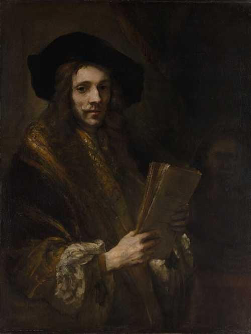 """Portrait of a Man (""""The Auctioneer"""")"""
