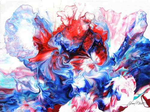 Abstract Pouring America